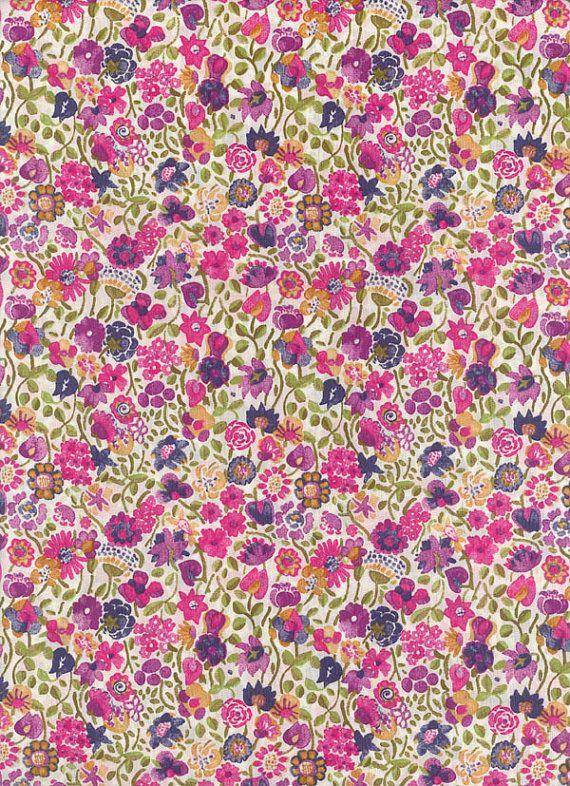 Liberty of London tana lawn fabric Kaylee Sunshine 6x26 on Etsy, $4.30