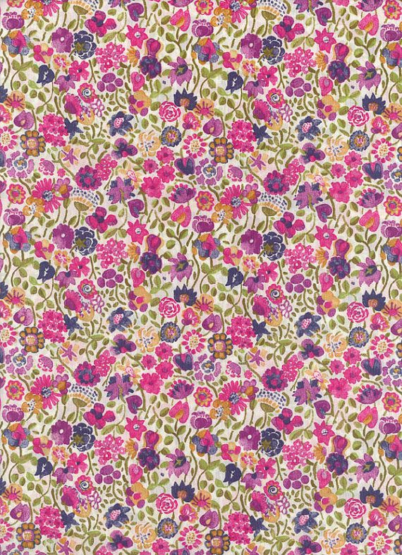 Liberty of London tana lawn fabric Kaylee Sunshine by MissElany