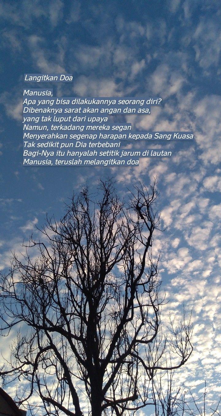 Langit Biru Langit Langit Biru Kata Kata Indah
