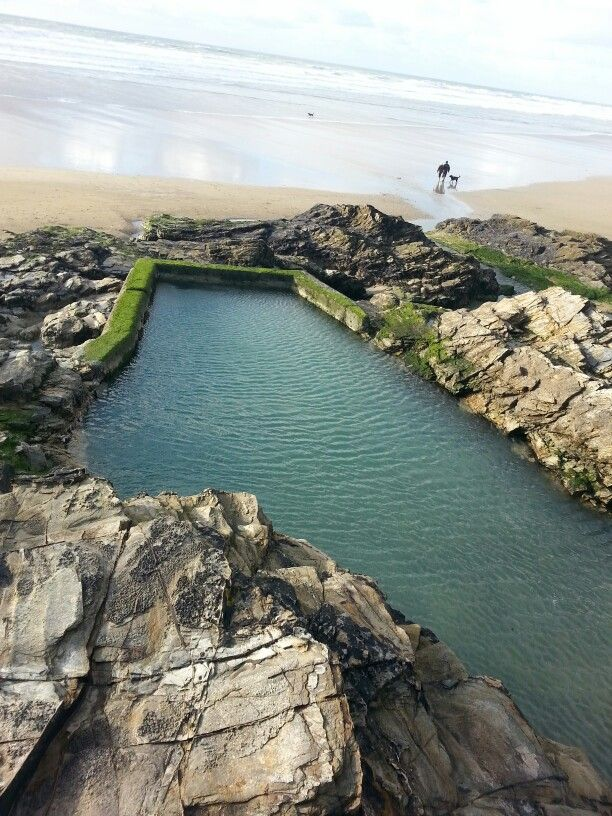 Chapel rock, Perranporth, Cornwall. A lovely wild swim!! and a great find.