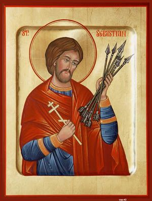 St. Sebastian the Patron Saint of Archers and Soldiers