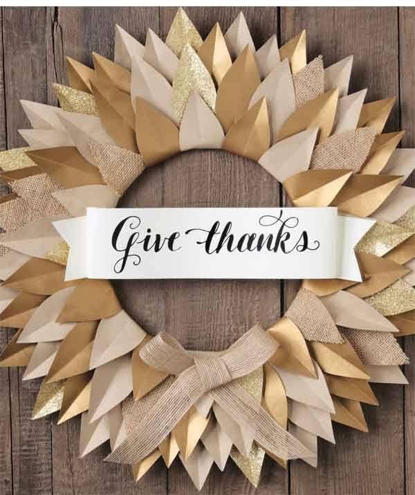 9 Pretty Ways to Show You're Thankful This Season