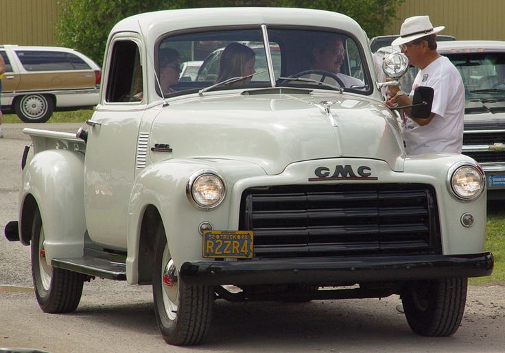 1952 GMC Truck - White - Front Angle    Image Copyright Serious Wheels