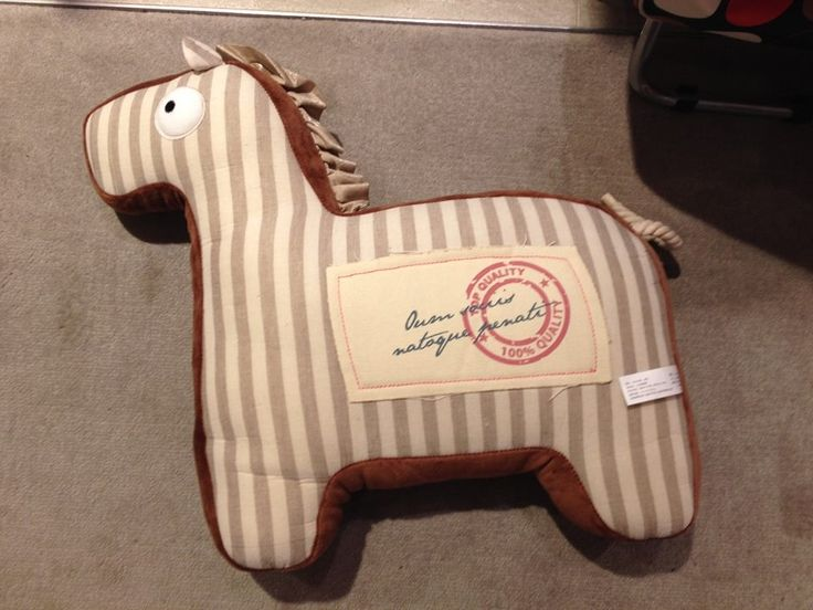 Horse Cushion. Was $25, Now $20! (Offer ends 24th July 2014)