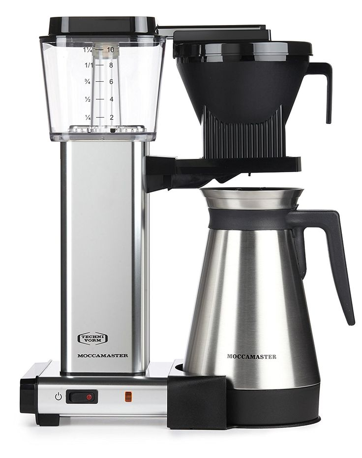 Moccamaster KBGT 10Cup Coffee Brewer with Thermal Carafe
