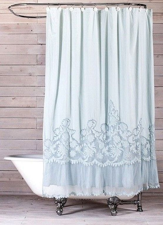 23 Shabby Chic Shower Curtain Ideas For Romantic Bathroom BedroomCurtainsModern