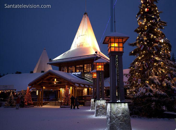 Natal na Finlândia: Aldeia do Papai Noel na Lapónia em Dezembro