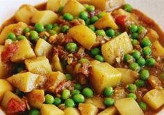 Potato and pea curry – Bernadette Cranswick