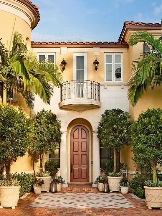 49 best images about our house on pinterest stucco for Mediterranean style architecture characteristics