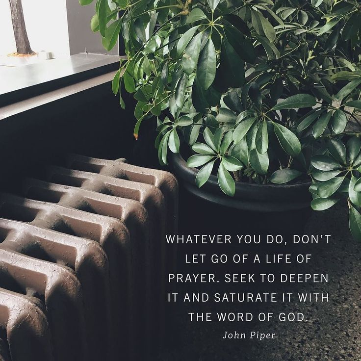 """""""Whatever you do dont let go of the life of prayer. Seek to deepen it and saturate it with the word of God. Dont assume that you just heard from me the best model. Compared to some church patterns in the world my pattern is pitiful. Its just pitiful. And compared to others it was significant. But dont assume it was ideal.  Seek the Lord. He may have something very different and better for you the church and the world. This is one of the reasons Im so passionate about pressing the prayer life…"""