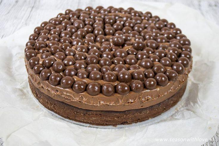 Deze Maltesers taart is heerlijk en ziet er ook nog eens prachtig uit. Elke taart is een feestje!