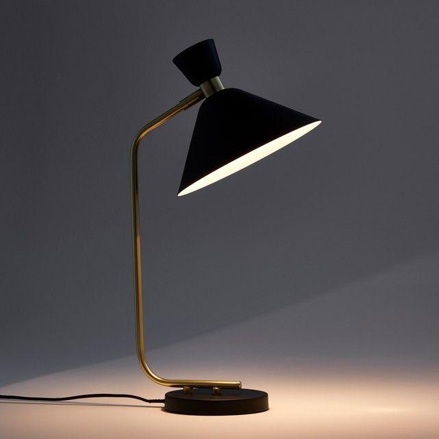 Lampe Zoticus Noir Laiton Am Pm La Redoute Chf 140