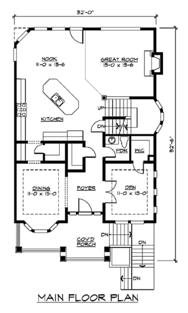 31 best home images on pinterest house floor plans hip roof and main floor reasonable for nova lot sizes craftsman style house