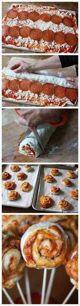 Pizza on a Stick | Food Blog | Bloglovin'