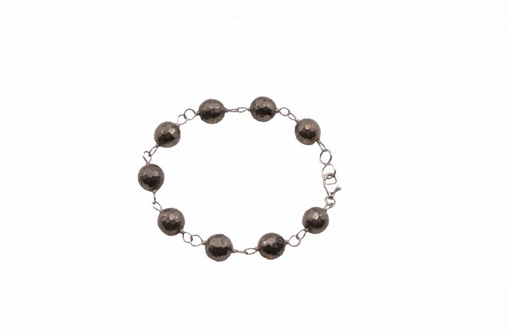 Βραχιόλι με χρυσοπυρίτη - Bracelet with goldpurite