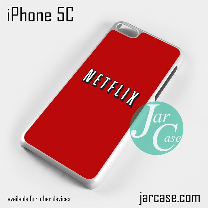 netflix Phone case for iPhone 5C and other iPhone devices