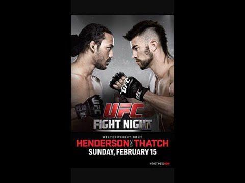 Week fight schedule