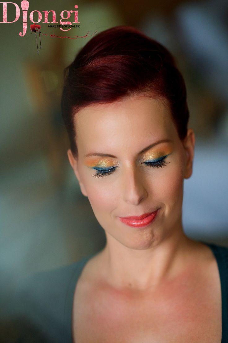 Wedding makeup! Follow me on FB: Djongi makeup! thx