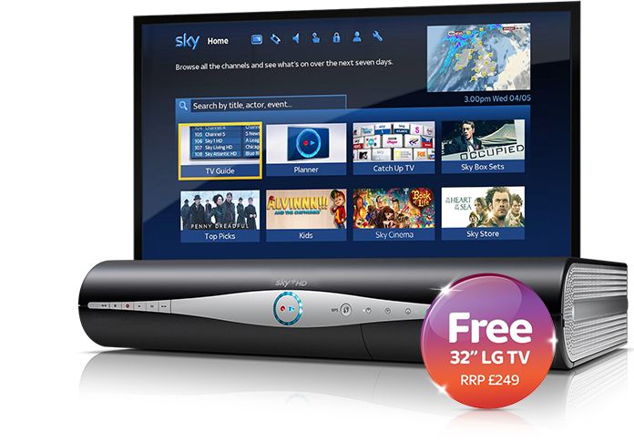 FREE LG TV & Earn up to £136.50 cashback from Sky Digital TV & Broadband - New Customers with @Top_CashBack