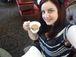 QVB High Tea- Jessica