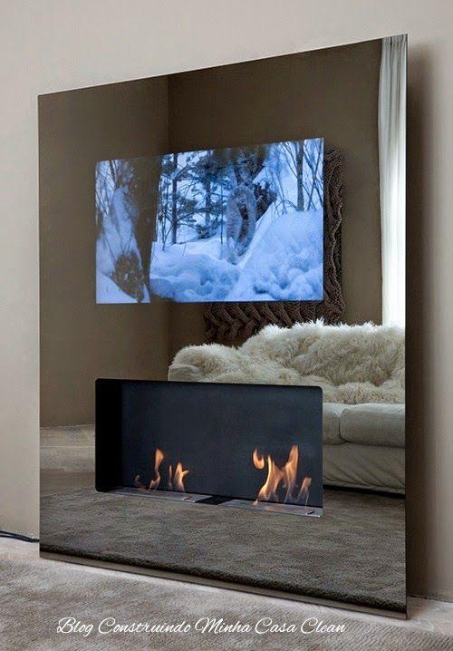 Construindo Minha Casa Clean: TVs Embutida em Vidros, Espelhos e Portas! Veja essa Tendência!