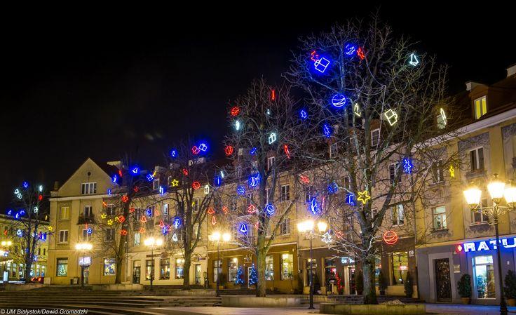 #Bialystok #ŚwiątecznyKlimat #RynekMiejski fot. Dawid Gromadzki