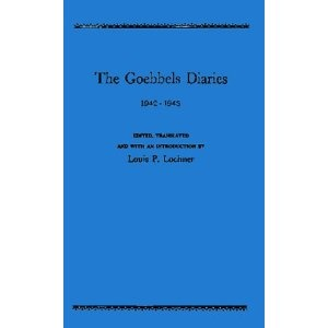 The Goebbels Diaries, 1942-1943. - As a study into the human mind, mass communications and propaganda, history, psychology, sociology, brain washing, idol worship, mass psychosis, cultism, occultism, and history. Goebbels strikes as both a true believer and a sociopathic manipulator.