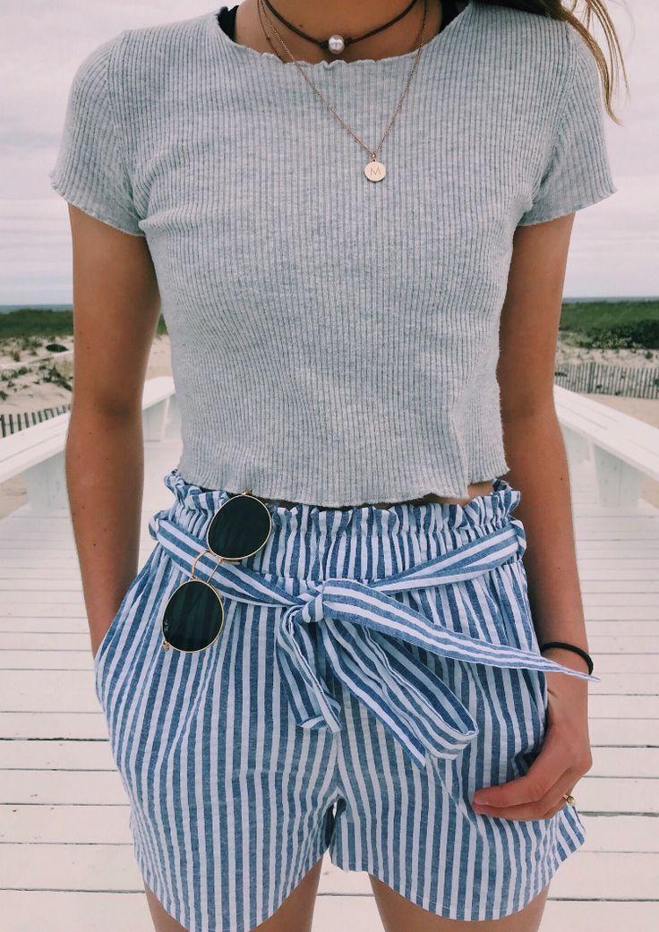 Lieber Stitch Fixer: Ich mag diese Shorts. Ich würde es mit einem normalen T-Shirt (… – Spring + Summer Style