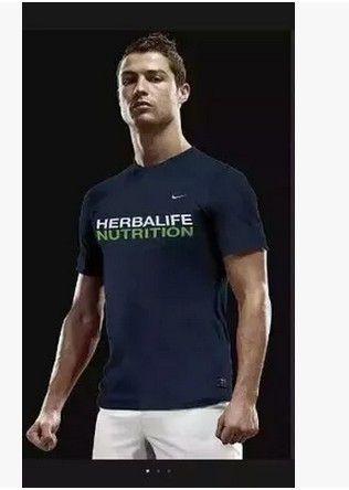 2015新款康寶萊夏季短袖T恤 藏藍色上衣加別特印花 康寶萊衣服