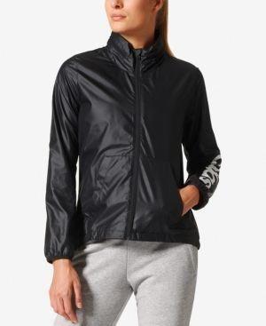 768cad9a4883 adidas Linear Windbreaker - Black XXL  GeorgeWomensraincoat