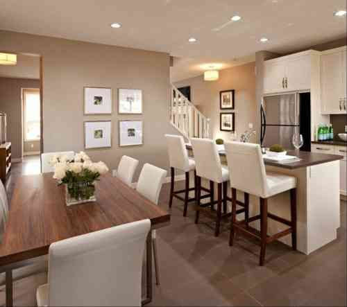 134 best Déco interieure images on Pinterest Home ideas, For the - agencement de cuisine ouverte
