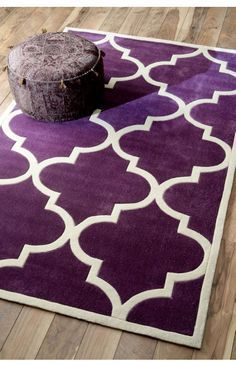 Purple Area Rug - 6