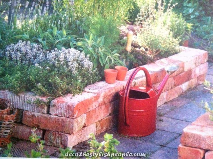 Tolle Ideen Zum Besten Von Gartenrander Mit Ziegeln Und Steinen Die Was Auch Immer Sind Wel Garten Ziegelsteine Garten Ideen
