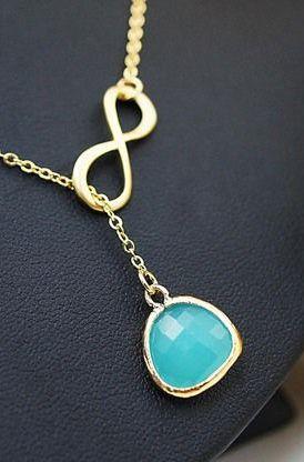 Infinity Bridesmaid Necklace