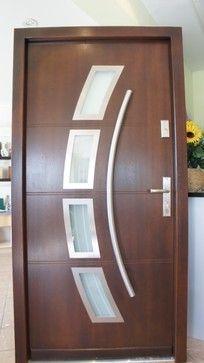Modern Exterior Doors, Exterior Front Doors, Modern Front Door, Entry Doors,  Doors Online, Main Door, Main Entrance, Door Design, Door Ideas