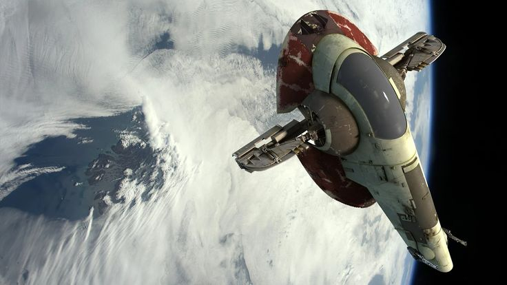 Rendered Sci-Fi Art