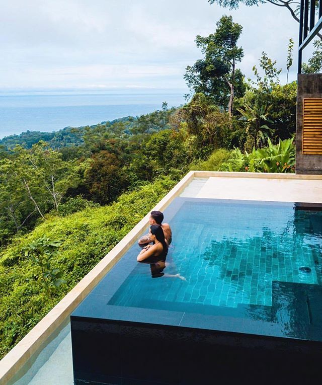 would you like a private infinity pool with your rainforest / ocean