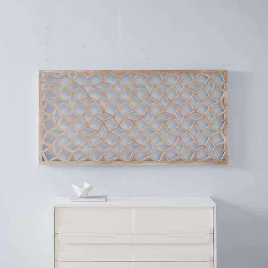 Lattice Wall Art - Rectangle