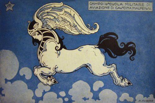 brudesworld:  Vintage Italian postcard art by Antonio Rubino (1880-1954)
