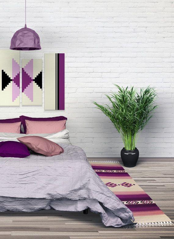 Handwoven wool rug boho rug bohemian kilim rug by RugsNBags