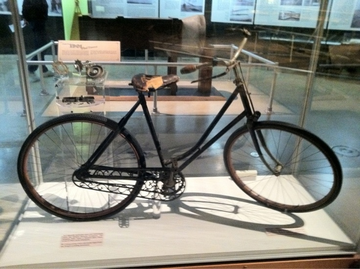 Actual Bike Built By The Wright Brothers At The Air Force Museum