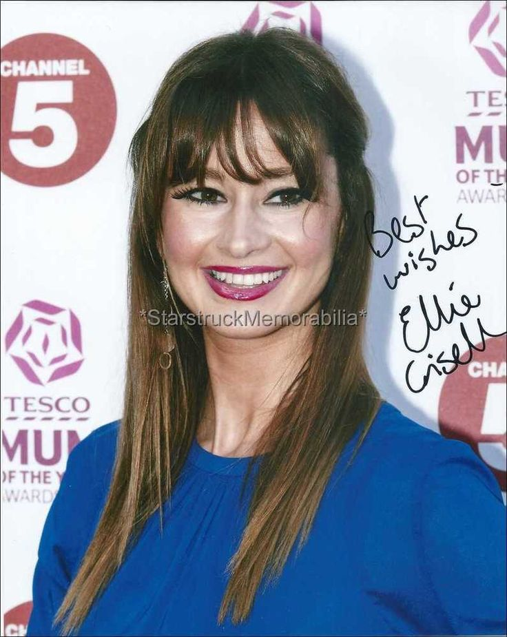 Ellie Crisell *Newsround* Hand Signed Autographed 10x8 Photo