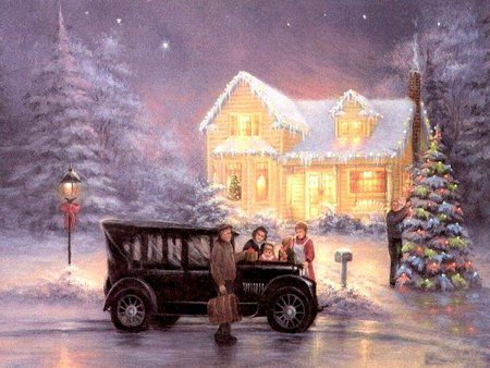 OLD TIME CHRISTMAS -