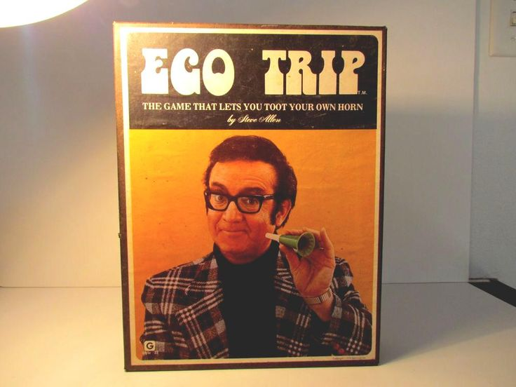 Ego Trip Game By Steve Allen  #vintage 70's from $14.99