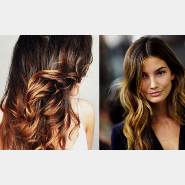 87 best hair color ideas images on pinterest hair braids and balayage highlighting pretty for brown hair urmus Images