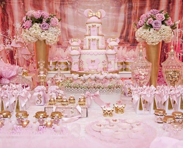 25+ melhores ideias de Decoraç u00e3o minnie rosa no Pinterest Aniversário minie rosa, Aniversario