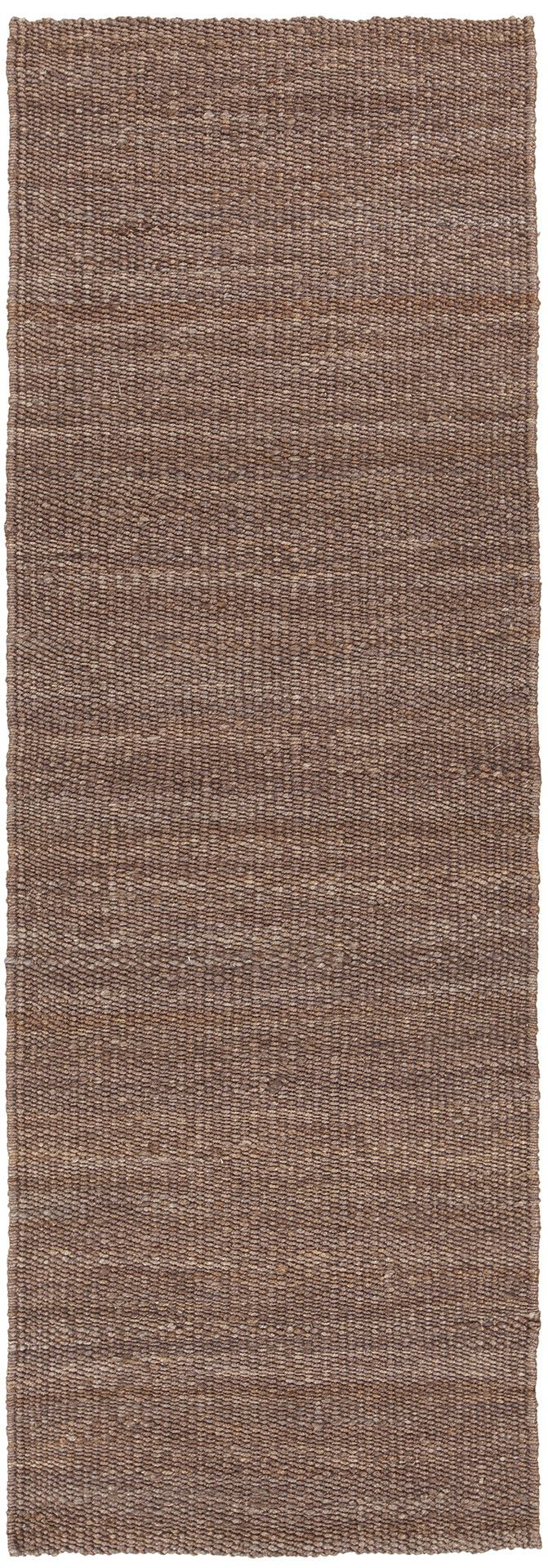 Brown Hand-Woven Transitional Rug