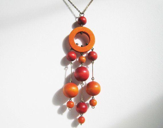 Vintage Kaija Aarika of Finland Modernist Bead by vanilladog,
