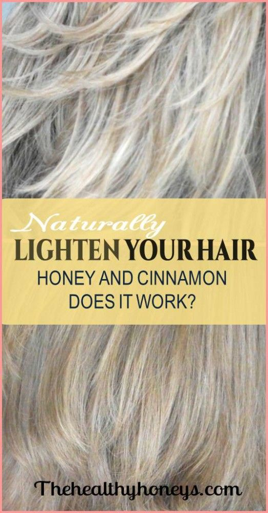 Naturally lighten hair with honey and cinnamon: Does it really work? - The Healthy Honeys