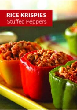 Stuffed Peppers | Recipe | Stuffed Peppers, Rice Krispies and Hams